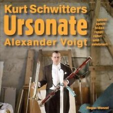 ALEXANDER VOIGT - URSONATE (KURT SCHWITTERS)  CD NEU SCHWITTERS,KURT