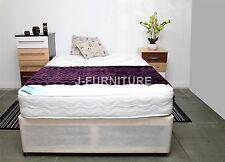 4ft Small Double Divan Bed + Soft to Medium Mattress 20cm Deep TOP PRICE