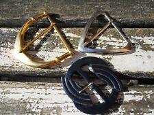 3 anciennes grosses boucles de ceinture vers 1950 métal et rhodoïd