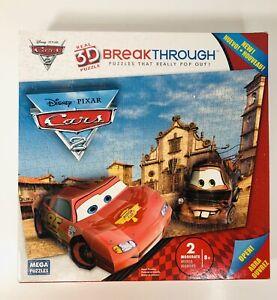 3D Breakthrough Disney Cars Puzzle 2011