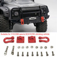 2PC RC Rock Crawler 1:10 parts Shackle Cars Tow Hook For Axial SCX10 RC4WD D90