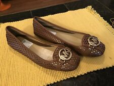 Michael Kors Women's Brown Ballet Flats