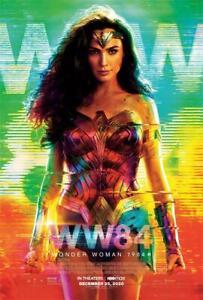 "Wonder Woman 1984 Movie Poster 18x12 30x20 36x24"""