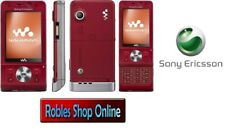 Sony Ericsson Walkman w910i hearty Red (Senza SIM-lock) 4 3g Band NUOVO only english