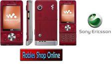 Sony Ericsson Walkman w910i Hearty Red (Sans Simlock) 3 G 4 Bande Neuf ONLY English