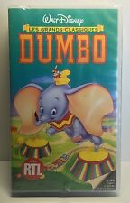 FRENCH SEALED VHS:  DUMBO - Walt Disney's Les Grands Classiques