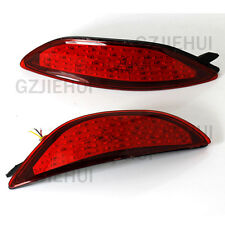 2x LED Rear Bumper Reflectors Light Brake Park For Hyundai Accent Sedan 2008-15