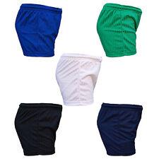 PROC Football Shorts High Cut Shadow Stripe Polyester Tie Cord Elasticated Waist