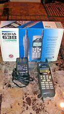 VINTAGE HARD TO FIND NOKIA 638 T 600 SERIES EXECUTIVE KIT CELLULAR PHONE