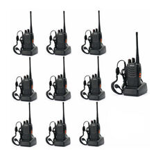 20 Pack Baofeng BF-888S 5W Two-Way Ham Radio Communication Walkie Talkie