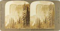 USA Californie Yosemite El Capitan, Photo Stereo Vintage Argentique PL62L6