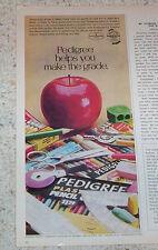 1974 print ad - Empire Pencil Company Pedigree pencils Shelbyville Tennessee AD