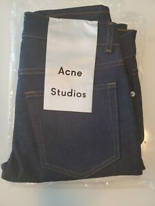 Acne Studios Jeans Thin Fit Straight Raw Denim Size 29 Length 34