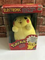 Vintage Hasbro Electronic I Choose You Pikachu Pokemon Plush Toy - Working