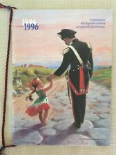 CALENDARIO UFFICIALE ARMA DEI CARABINIERI C.C. ANNO 1996 50° REPUBBLICA ITALIANA