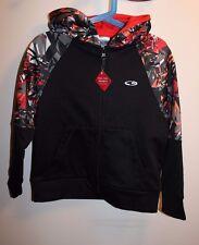 New Champion Duo Dry hooded fleece jacket boys size XS (4-5)