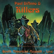 Paul DiAnno & Killers South American assault (live) [CD]