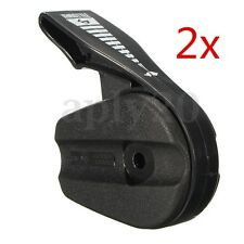 2pcs Electric Rotary Lawnmowers Throttle Control Lever Handle Switch Black AU