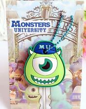 Disney monster mike with hat silica gel Key Met Protective Cover anime key ornam