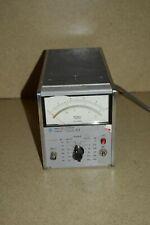 Ltss Hewlett Packard 3400a Rms Voltmeter 34a
