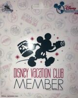 Disney Vacation Club Member Car Decal Mickey Mouse - NEW
