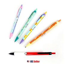 NEW Nintendo Pokemon 0.5mm Mechanical Lead Pencil with Pocket Clip Set of 5pcs
