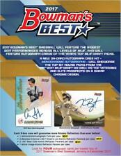 8 BOX CASE 2017 Bowman's Best Baseball Hobby Box (12 Packs,4 Autos/Box ) Judge