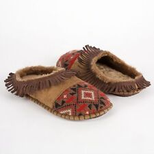 The Original MUK LUKS Kaya - Knit Toe Mule Moc Slipper Sz S (5-6) NWT