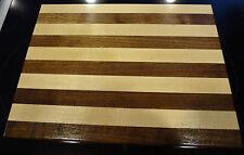 Amish Hand Crafted Walnut / Oak Cutting Board 12 x 9