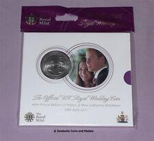 2011 ROYAL MINT SPECIMEN £5 CROWN - William & Catherine Wedding - MINT SEALED