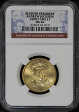 2008-P SMS Andrew Jackson Presidential Dollar NGC MS-66 -143951