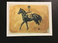 BLACK GOLD Painting Horse Racing 1924 KENTUCKY DERBY