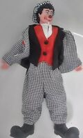 "Ringling Bros. Barnum & Bailey Circus David Larible 16"" Clown Collectible Doll"