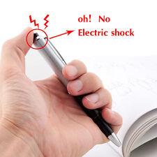 NEW Fancy Shocking Ball Point Pen Electric Shock Toy Gift Joke Prank Trick Fun
