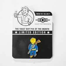 Fallout Vault Boy Limited Metal Pin of The Month Lone Wanderer - 3 4 5 New Vegas