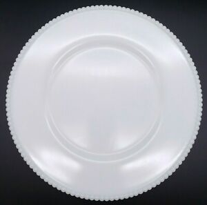 """6 1/4"""" WESTMORELAND Beaded Edge Milk Glass Bread & Butter Plate Replacement"""