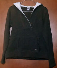 Nike ACG Womens Pullover Hoodie Sweater Brown Long Sleeve Kangaroo Pocket L EUC