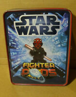 Star Wars Fighter Pods Collector Tin Target Exclusive Empty Metal Box Darth Maul