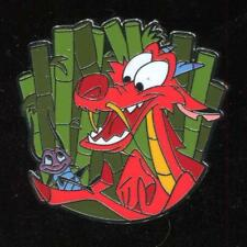 Mushu Holding Crickee Disney Pin 127346