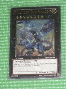 YuGiOh Card - Thunder End Dragon PHSW-EN044 1st Ed. Ultimate Rare (NM)