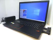 "Asus GL753VD-DS71 Strix ROG i7-7700HQ Quad 2.8GHz 12GB 256G SSD 1TB 17.3"" Laptop"