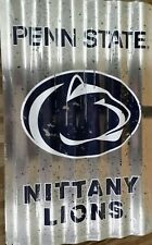 PENN STATE  CORRUGATED SIGN FOOTBALL GAME DORM ROOM MAN CAVE