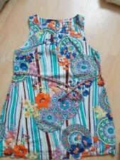 Ladies Joe Browns Floral/Striped Cotton Shift Dress Size 18