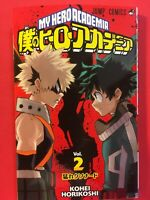 My Hero Academia Vol. 2 Japanese Edition Manga F/S Jump Comics Book Volume 2