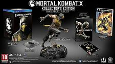 Mortal Kombat X Kollector's Edition PS4 Collectors Edition ENGLISH