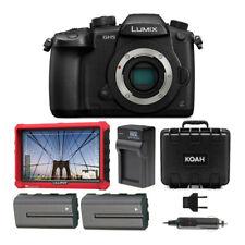 Panasonic Lumix GH5 Body 4K Mirrorless Camera T7 Monitor Bundle