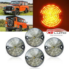 Clear LED Side Marker Lights for Land Rover Defender 90/110 Series 1 2 3 RTC5013