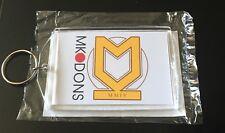MK Dons FC Brand New Large Keyring