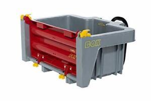 Traktoranhänger Rolly Toys rollyBox Kippfunktion Farbe grau rot Kinder B-WARE