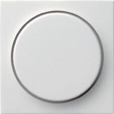 Gira 065027 Abdeckung Drehdimmer System 55 reinweiß matt